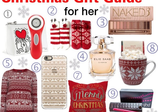 Christmas Gift Guide for her