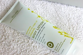Отзыв/Review: Acure Organics, Firming Body Lotion, Lemongrass + Moroccan Argan Oil