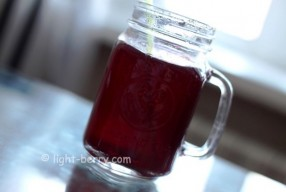 Blueberry iced tea Recipe (+Video)