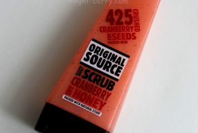 Review: Original Source Cranberry & Honey Daily Scrub. Analyze the ingredients