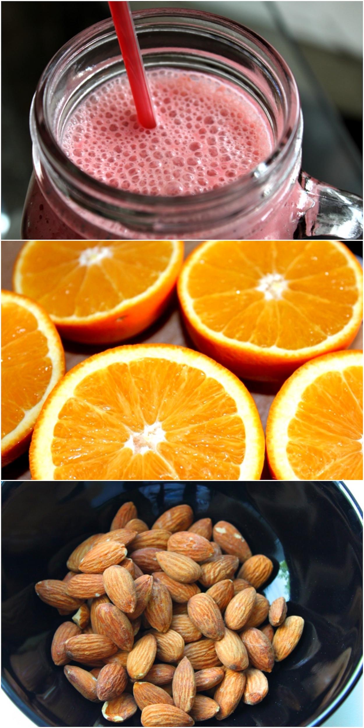 Healthy food for beautiful skin